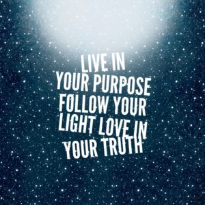 living in your purpose